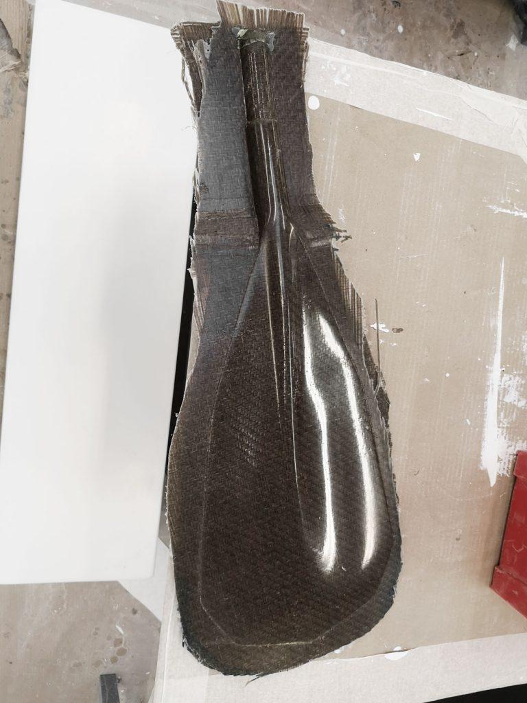Paggaie renforcée en fibre de lin